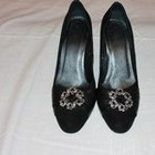 туфли замшевые натуральные - 38 размер