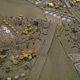 Кофта в натуральных камнях Самоцветы,яшма,дерево,бисер 48-50-й.
