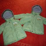 Фирменная куртка Next зима- осень рост 98 2-3года и 3-4 года