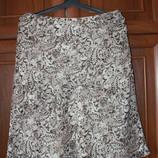 модная летняя юбка, 50-52размер, фирмы Marks & Spencer