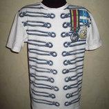 Стильная футболка Debenhams Турция мальчику на 7-8 лет