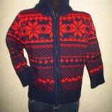 Теплая кофта свитер Store Twenty One мальчику на 3-4,5 года как новая