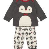 Пижама с пингвином mothercare