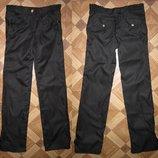 На 9-10 лет Новые школьные брюки с кружевом девочке