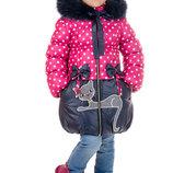 Зимнее детское пальто Мурочка