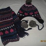 Набор шапочка шарфик от MATALAN, 7-10 лет