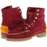 Ботинки замша демисезон шнуровка бренд Sebago оригинал из США р. 39, 5
