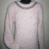 На 9-10,5 лет Шикарный теплый свитер травка Young Dimension девочке