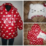 На 1,5-3 года Шикарный комплект Hello Kitty девочке