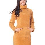 Теплые платья от С до 3ХЛ, разные цвета
