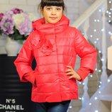 Стильные демисезонные курточки для девочек в наличии от 122 до 152