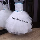 нарядное детское платье -экслюзив вналичии