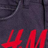 Джинсы хлопковые цветные для мальчиков 1-10лет H&M Швеция