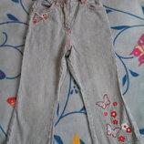 Штаны джинсы 3-4г. 104р