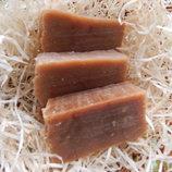 натуральное мыло-скраб молоко-мед-овсянка с нуля, органическое