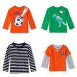 Childrens place регланы, футболки 12 мес - 4т