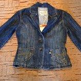 Стильный джинсовый пиджак Amazing р. 44-М