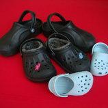 Босоножки Crocs Black оригинал 26-27 размер