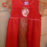 Новогодний костюм платье принцесса Бель Bell фирма Дисней