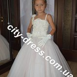 нарядное детское платье,перчатки
