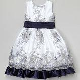 Нарядное платье на рост 95-110 Америка