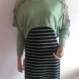 платье-туника двойка сарафан и свитерок