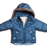 Теплая куртка от 86 до 158, 2 цвета