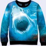 3D свитшот Акула