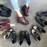 Новинка Стильные коротенькие ботиночки
