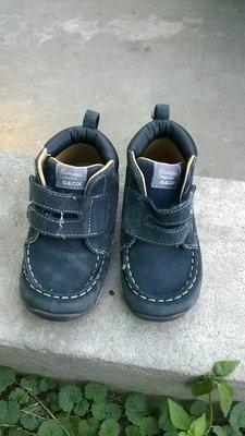 Ботинки Geox кожа синие 22р