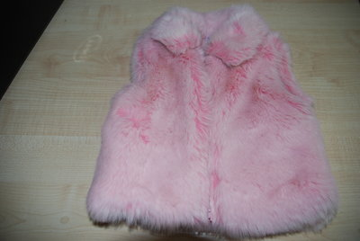 Продано: Жилетка меховая
