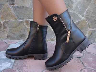 Ботинки женские зимние. S-15. натуральная кожа.