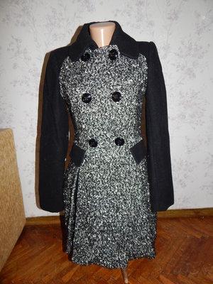 пальто стильное модное р8 наш р42