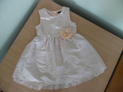 Платье девочке 3-4 года рост 98-104 см George Джорж