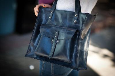 Сумки натуральная кожа больших размеров шопер эксклюзив сумка - мешок