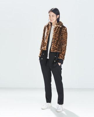 Новый брендовый полушубок Zara Trafaluc р.М наш 42-44р. Испания.