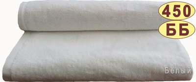 Махровое полотенце 50 90 см 450 г/м2