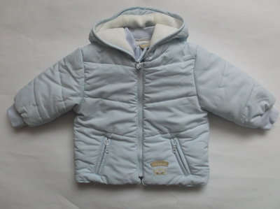 Курточка теплая для мальчика 6-9 месяцев Mini banda