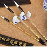 Китайские каллиграфические кисти кисточки кисть живопись рисование пензлі каліграфічні масло акварел