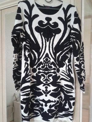 Платье-Туника трикотажное нарядное Cristina Paris Франция