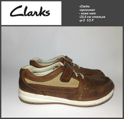 Clarks 22.5 см стелька р-2 1/2 F