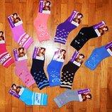 Махрові носочки для дівчинки Модниця
