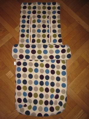 Фирменный утепленный флисовый чехол, конверт на ножки Mothercare