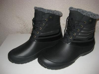 Зимние ботинки Эва высокие 42-45 р.р Не промокают, теплые и легкие.