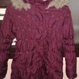 Курточка пальто синтепон Age на 10-11 лет.Состояние Отличное Сделать горячимНа главнуюРедактироватьП