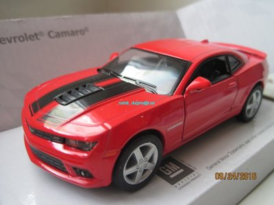 Машинка металл Chevrolet Camaro 2014 Kinsmart