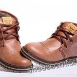 Clarks Originals - зимние мужские ботинки из натуральной кожи
