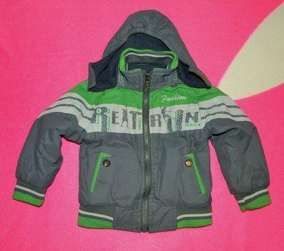 Куртка детская демисезонная двухсторонняя 12-18-24 мес.