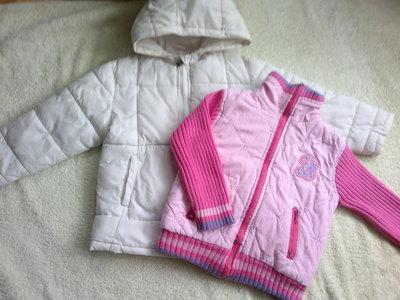 Демисезонные куртки для девочки 3-5 лет