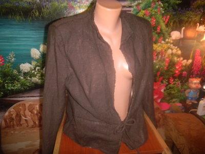 пиджак шоколадного цвета 52-54 р